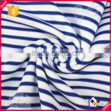 35%Cotton 60%polyeater 5%spandex Fabric Wholesale, Cheap Stripe Fabric for Garment Wholesale