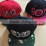Top Sale Printed Kids Caps, Custom Flat Bill Snapback Hats for Kids