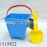 Specific Design Beach Toy Plastic Sand Buckets And Shovels For Kids Summer Toy