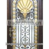 Top-selling cast iron wood stove door