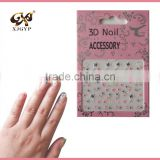 professional nail sticker/3d gel nail stickers/cheap nail art sticker
