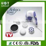 Handheld relax tone body massager as seen on TV