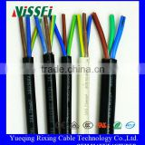 Flexible Rubber Power Cable Sheathed Multi Core Copper Wire OEM Manufacture China Manufacturing Product