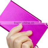 portable promotional christmas gift 4000mah slim power bank charger for mobile phone/digital camera