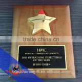HMC metal Star Award and wholesale star plaques