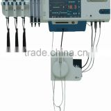 New Patent Medical Equipments Multi-function Informanization Wall Mounted Vital Signs Diagnosis System with Endoscope