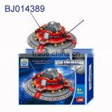 Children 3d puzzle diy toy funny science block model space shuttle