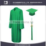 Good Reputation Factory Price University Students Graduation Gowns Set