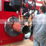 Cantilever Type Piping Automatic Welding Machine for Short Pipes with Three Welding Torches(TIG+MIG+SAW)