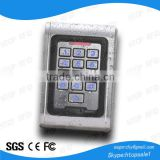 Outdoor Waterproof Metal RFID Reader for Access Control (MAW8)