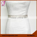 FUNG 800279 Bridal Crystal Wedding Dress Sashes And Belts