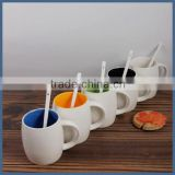 Factory oem custom printing cheap bulk plain white ceramic mug