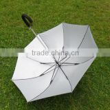 fiberglass silver coating uv protection solar charger umbrella