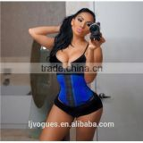 Ann Chery 3 Row Waist Cincher Classic High Compression Latex Girdle - Fajas