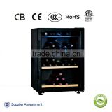 137L 40-bottles red wine bottle cooler single temperature adjustable humidity wine cooling refrigerator