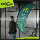 Backpack Signs Moon Shape Outdoor Advertising