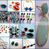 Bezel Gemstones Connectors Jewellery
