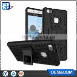 2016 New Products 2 in 1 Dual Slim Armor TPU + PC Kickstand Case For Huawei Ascend P9 Lite Back Cover mobile phones accessories