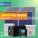 Moge off-grid solar power electric system 3kw top configuration with battery