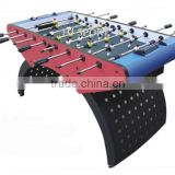 Rainbow leg MDF babyfoot soccer table / foosball soccer table for sale