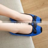 blue shoes elegant office styles popular in 2015 CP6846