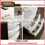 classic bathroom cabinet furniture bathroom cabinet solid surface double glass sink bathroom vanity