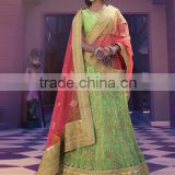 Sanctified Sea Green Net Lehenga Choli/fancy lehenga choli/Lehenga Choli Wholesaler In India