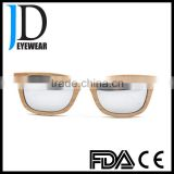 hot sale classic driver natural wood and bamboo sunglasses with blinds