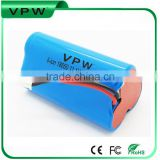China golden supplier for solar storage 11.1v li-ion battery pack 5200mah
