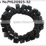 cheap black hair rubber bands elastic rubber bands