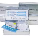 Mint flavor teeth whitening kit with time countdown/ home use tooth bleaching kit/ tooth whitening system