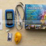 Wireless Fish Detector With Sonar Sensor,90 degree Fish Finder