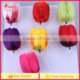 Simulation DIY artificial Flower tulip head for wedding Home Party Decor flower heads tulip