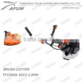 2.2kw fuel brush cutter with 62 cc engine farm machines for grass cutting