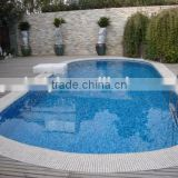 Rectanular swimming pool