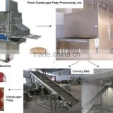 Fresh Hamburger Patty Processing Line/Chicken (Fish) Popcorn Processing Line/Automatic Union Ring Processing Line