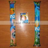 Custom logo inflatable pvc sports cheering stick