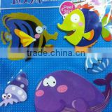 3D Fishes Decorative Wall Stickers