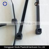 Black nylon cable tie/zip tie