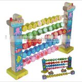 wooden abacus,kids calculate toys