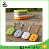 Colorful Portable silicone key holder bag Flexible Hand Strap Silicone Key Bag and Card Case