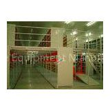Multi Tier Storage Rack Supported Mezzanine Light Grey Structural Steel Platform