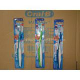 Oral-B manual cross action 7 toothbrushes with soft bristles
