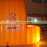 new style popular led light used inflatable spray booth for sale