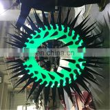 2m diameter inflatable donuts with LED for nightclub Decoration sam yu 8629