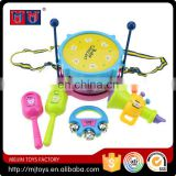 Kids educational toys Musical Instrument Drum play set 2016 fashional series