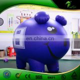 Inflatable Flying Advertising Pig Doll Purple Pig Toys Helium Balloon Custom PVC Costume Ball