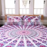 Indian Cotton Mandala Designer Quilt Cover Doona Cover Bedding Quilt Cover Comferter