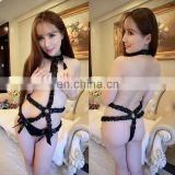 Chaozhou Supplier Lastest Fashion Women Open Nice Lace Sexy Mature Seamless Custom Print Lady Beauty Love Sexy Lingerie