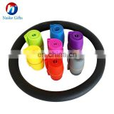 Wholesale Customer Colorful Heat Resistant Silicone Steering Wheel Cover